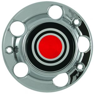 Center Cap Chrome Fits 80 - 92 Ford F150 - Single Piece