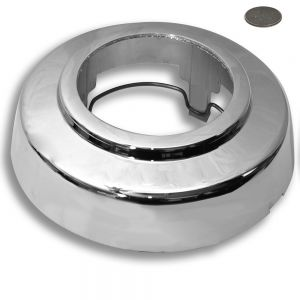 Center Cap Chrome Fits 95 - 08 Ford F150, E350 - Single Piece