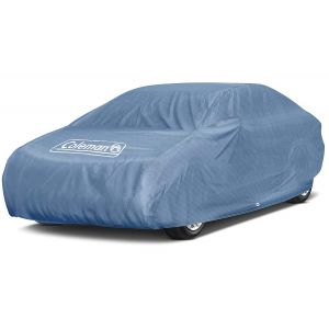 "Coleman Premium Signature Car Cover - Indoor-Outdoor Cover Waterproof/Dustproof/Scratch Resistant/UV Protection for Vehicles up to 225"" Inches"