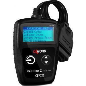 OxGord OBD2 Scanner CAN OBDII Code Reader - Scan Tool for Check Engine Light - Universal Diagnostic for Car, SUV, Truck and Van (MS309)