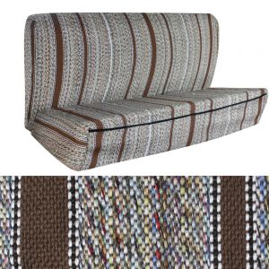 Seat Cover Saddle Blanket Bench, Brown