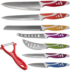 8pc Professional Chef Kitchen Knife Set