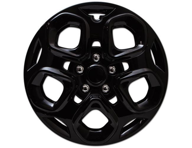 Snap On 17 Black Hub Cap For Ford Fusion And Mercury