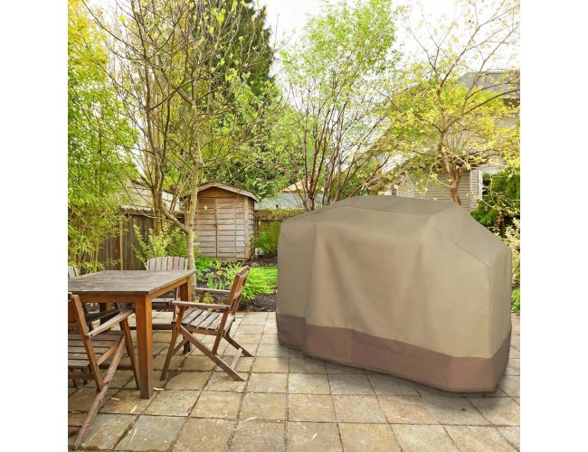 Bon BBQ Gas Grill Cover Heavy Duty For Home Patio Garden Storage Waterproof  Outdoor   LG