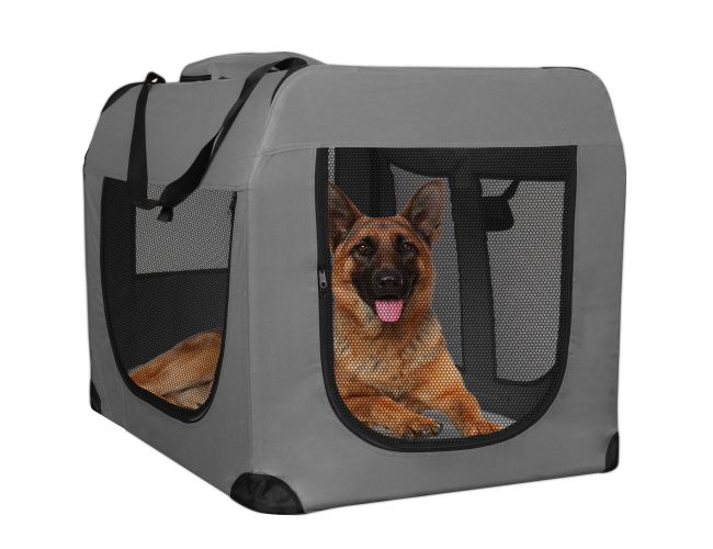 Paws Amp Pals Dog Crate Soft Sided Pet Carrier Foldable