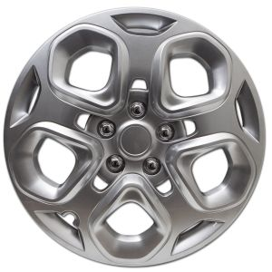 "Snap On 17"" Silver Hub Cap for Ford Fusion and Mercury Milan - 1pc"
