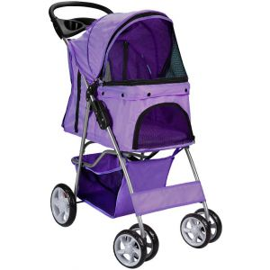 Purple Pet Stroller