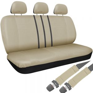 Bench Seat Cover, Solid Beige