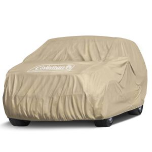 "Coleman Coleman Premium Executive SUV Cover - Indoor-Outdoor Cover Waterproof/Dustproof/Scratch Resistant/UV Protection for Vehicles up to 159"" Inches"