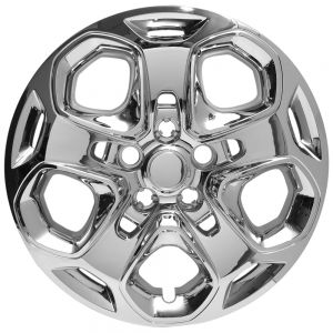 "Snap On 17"" Chrome Hub Cap for Ford Fusion and Mercury Milan - 1pc"