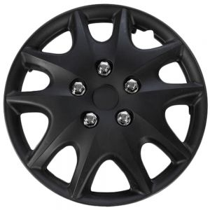 "14"" Inch Hub Caps Black fits 00-01 Toyota Solara - Set of 4"
