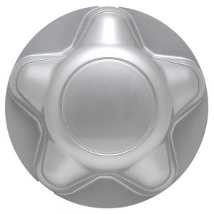 Center Cap Silver Fits 97 -04 Ford F150, 97 - 03 Ford Expedition - Single Piece