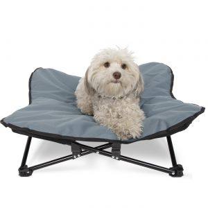 Paws & Pals Elevated Pet Bed for Dogs & Cats Outdoor Indoor Camping Raised Cot- MM