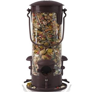 Paws & Pals Wild Bird Feeder - Squirrel Proof - Outdoor Hanging Seed House - 3-Port