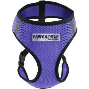 Purple Pet Dog Harness, MM