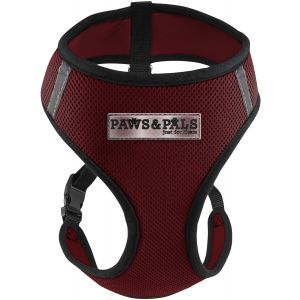 Red Pet Dog Harness, SM