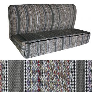 Seat Cover Saddle Blanket Bench, Gray