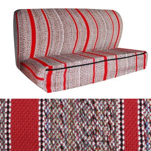 Seat Cover Saddle Blanket Bench, Red