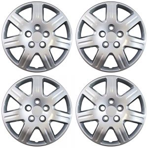 "16"" Inch Hub Caps Chrome Fits 06 - 13 Honda Civic - Set of 4"