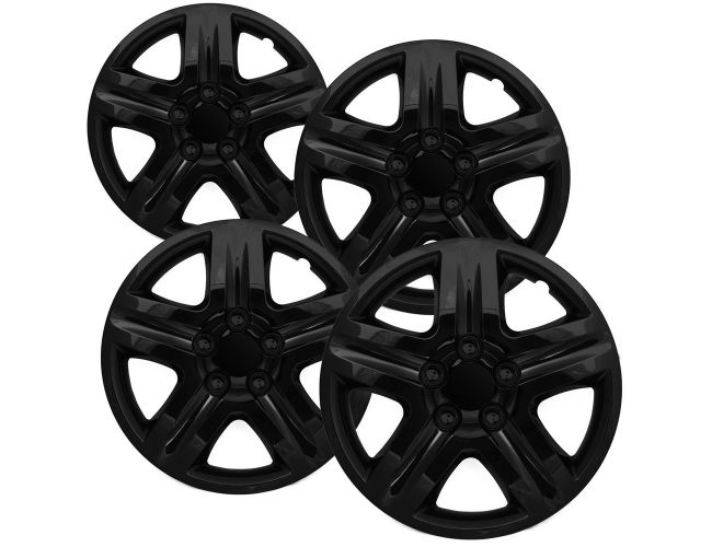 16 Inch Hubcaps Best For 2006 2013 Chevrolet Impala Set Of 4 Wheel Covers 16in Hub Caps Black Rim Cover Car Accessories For 16 Inch Wheels Snap On Hubcap Auto Tire Replacement Exterior Cap Wheels